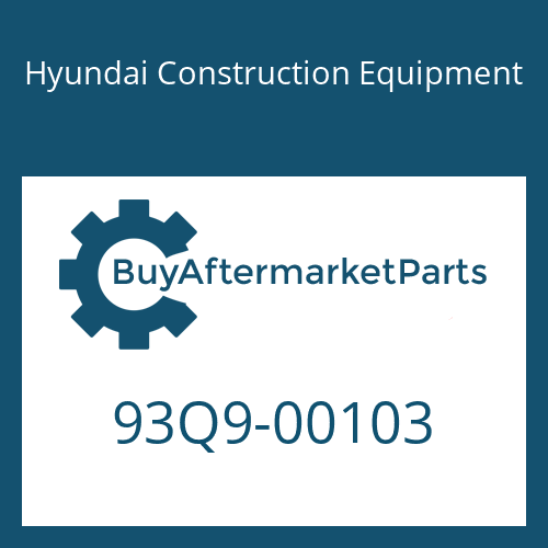 Hyundai Construction Equipment 93Q9-00103 - DECAL KIT-B