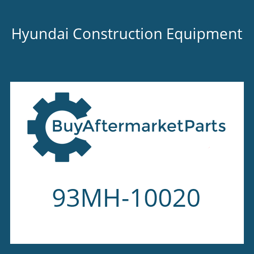 Hyundai Construction Equipment 93MH-10020 - DECAL-MODEL NAME LH