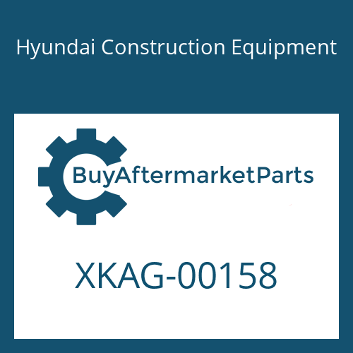 Hyundai Construction Equipment XKAG-00158 - COVER-FRONT