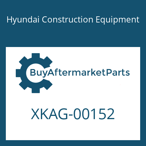 Hyundai Construction Equipment XKAG-00152 - SEAL-CHANNEL