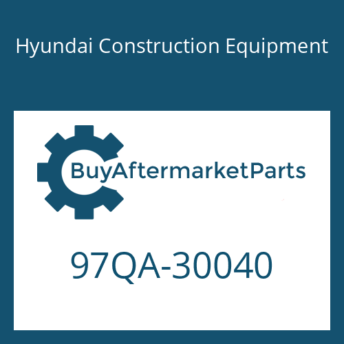 Hyundai Construction Equipment 97QA-30040 - MANUAL-OPERATOR