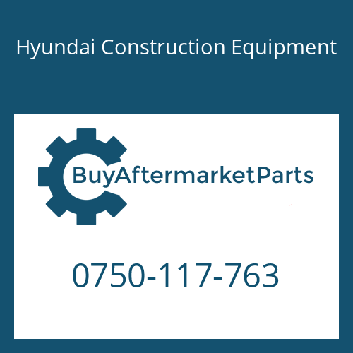 Hyundai Construction Equipment 0750-117-763 - Bearing-Roller