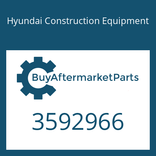Hyundai Construction Equipment 3592966 - BEARING-THRUST