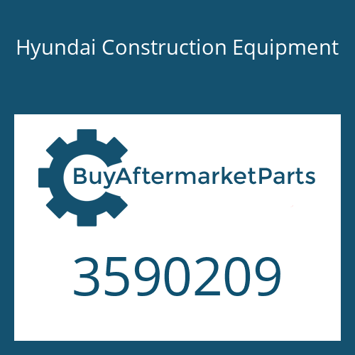 Hyundai Construction Equipment 3590209 - Rod-Push