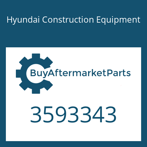 Hyundai Construction Equipment 3593343 - Housing, Tur Bearing