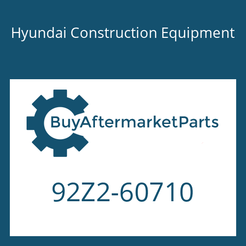 Hyundai Construction Equipment 92Z2-60710 - DECAL-SERVICE INSTRUCTION