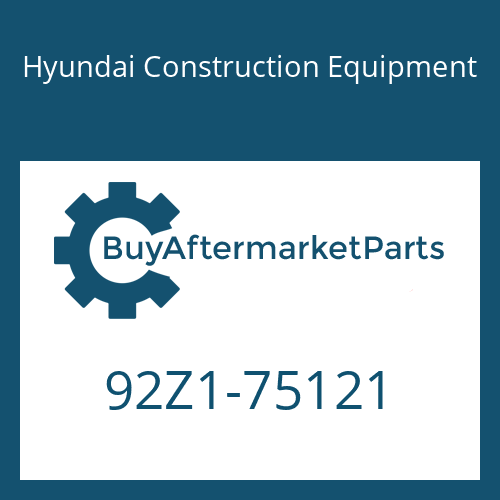 Hyundai Construction Equipment 92Z1-75121 - DECAL-MODEL NAME RH