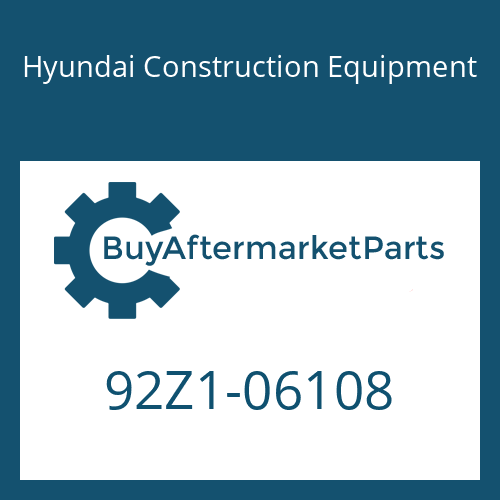 Hyundai Construction Equipment 92Z1-06108 - DECAL KIT-B