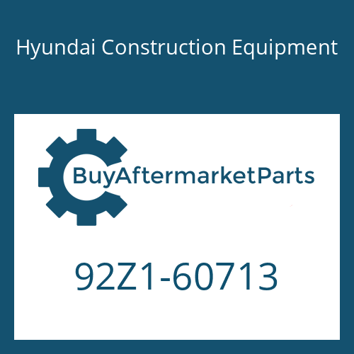 Hyundai Construction Equipment 92Z1-60713 - DECAL-SERVICE INSTRUCTION