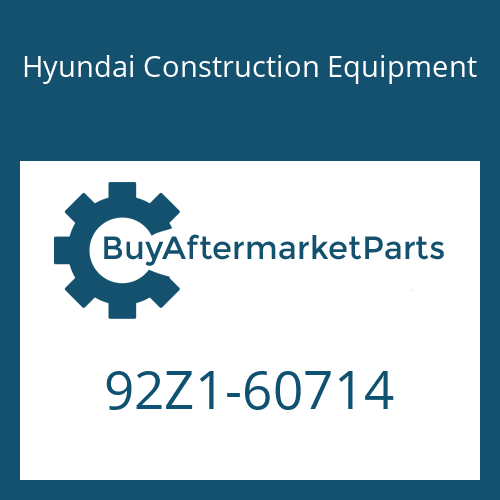 Hyundai Construction Equipment 92Z1-60714 - DECAL-SERVICE INSTRUCTION