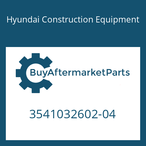Hyundai Construction Equipment 3541032602-04 - LINK-SUSPENSION