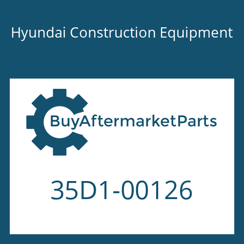 Hyundai Construction Equipment 35D1-00126 - BODY-HYD TANK