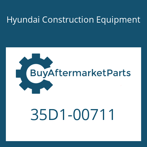 Hyundai Construction Equipment 35D1-00711 - COVER