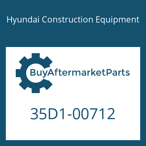 Hyundai Construction Equipment 35D1-00712 - COVER