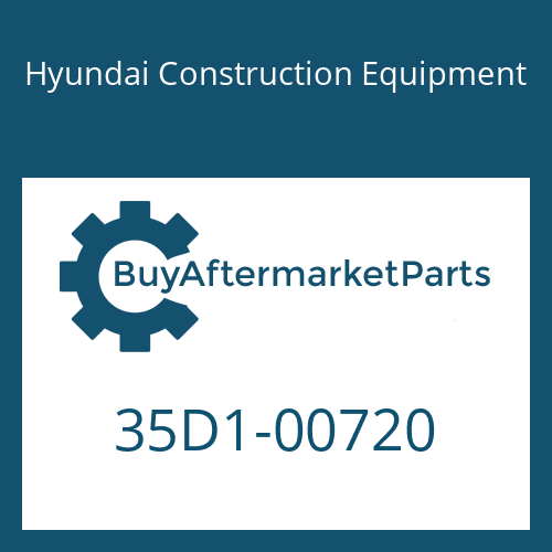 Hyundai Construction Equipment 35D1-00720 - COVER