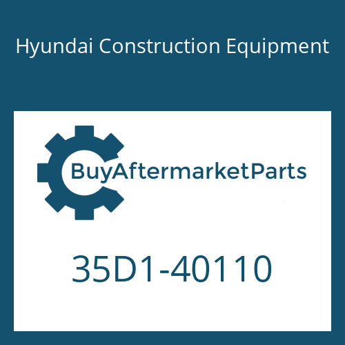 Hyundai Construction Equipment 35D1-40110 - ROD ASSY