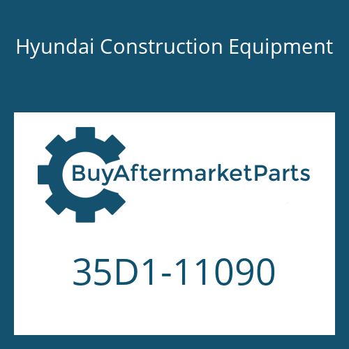 Hyundai Construction Equipment 35D1-11090 - COVER-RH