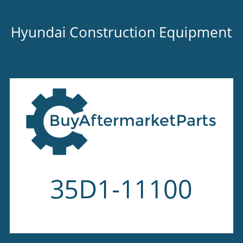 Hyundai Construction Equipment 35D1-11100 - COVER-LH