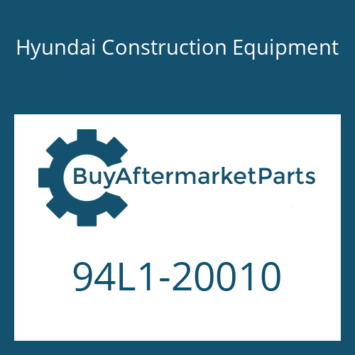 Hyundai Construction Equipment 94L1-20010 - DECAL-TOOL LIST