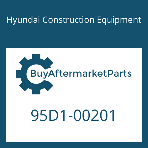 Hyundai Construction Equipment 95D1-00201 - PLATE-ROPS