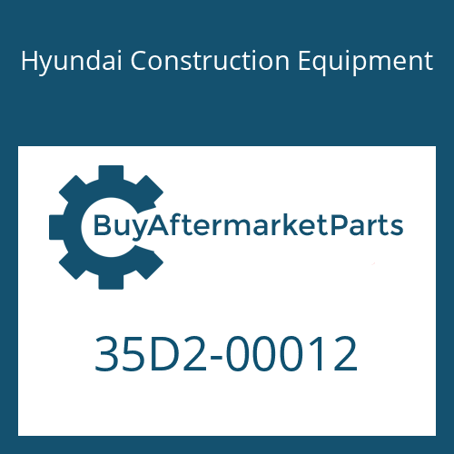 Hyundai Construction Equipment 35D2-00012 - BODY-HYD TANK
