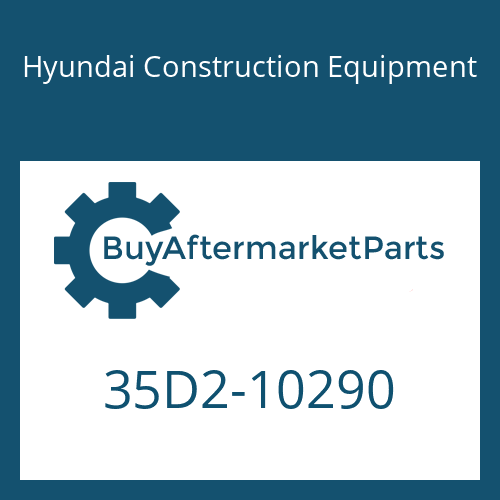 Hyundai Construction Equipment 35D2-10290 - CONNECTOR