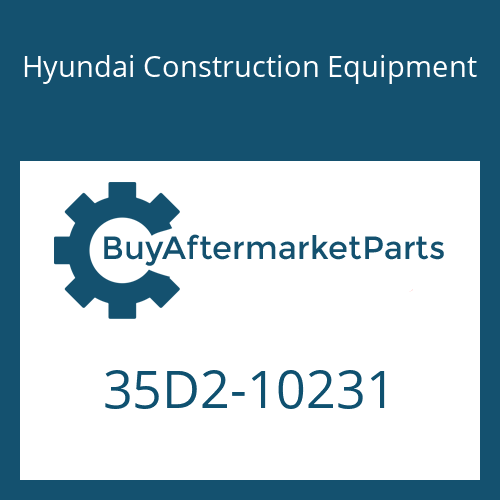 Hyundai Construction Equipment 35D2-10231 - PIPE ASSY-HYD