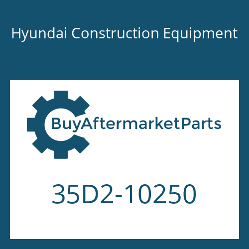Hyundai Construction Equipment 35D2-10250 - PIPE ASSY-HYD
