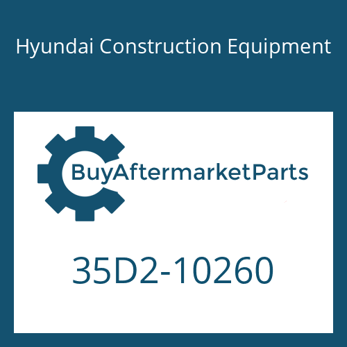 Hyundai Construction Equipment 35D2-10260 - PIPE ASSY-HYD