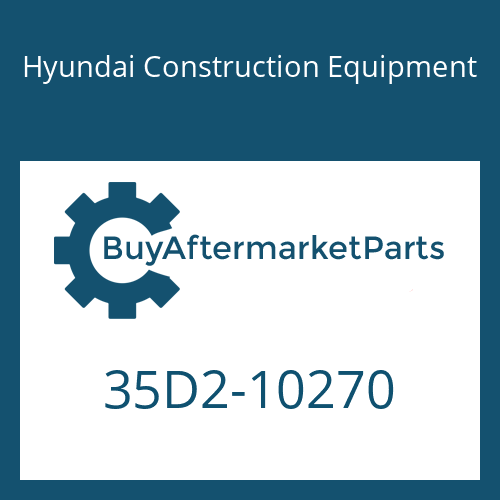 Hyundai Construction Equipment 35D2-10270 - PIPE ASSY-HYD