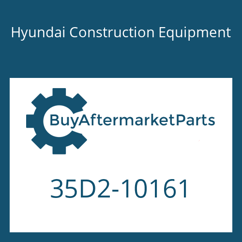 Hyundai Construction Equipment 35D2-10161 - COVER-RH