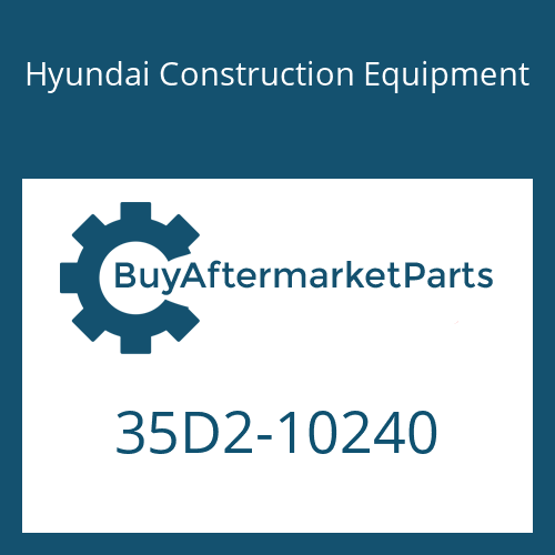 Hyundai Construction Equipment 35D2-10240 - COVER-LH