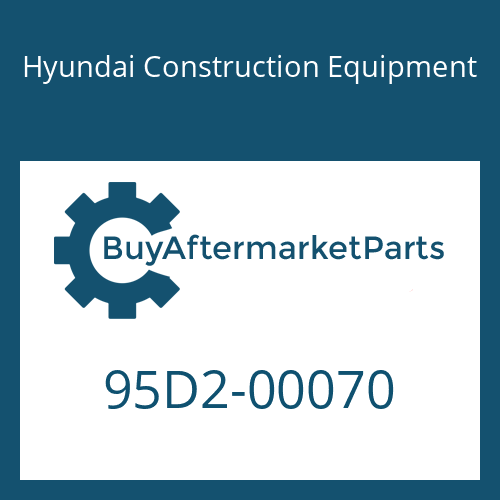 Hyundai Construction Equipment 95D2-00070 - Side Character(A)-Lh