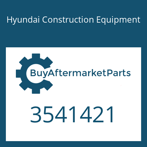 Hyundai Construction Equipment 3541421 - Housing