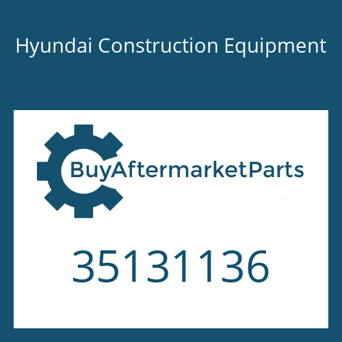Hyundai Construction Equipment 35131136 - CONNECTOR-HOSE
