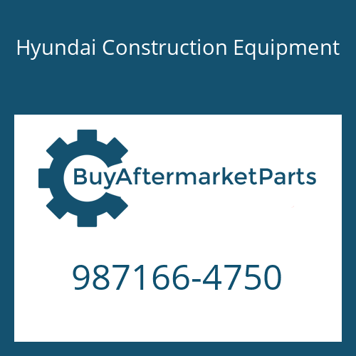 Hyundai Construction Equipment 987166-4750 - Bracket
