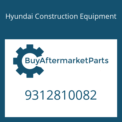 Hyundai Construction Equipment 9312810082 - Nut-Hex