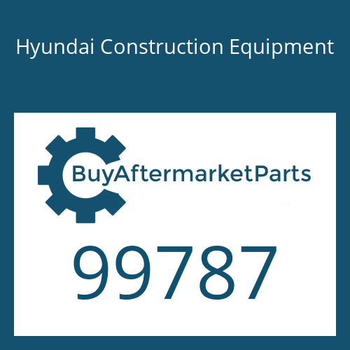 Hyundai Construction Equipment 99787 - Washer-Lock