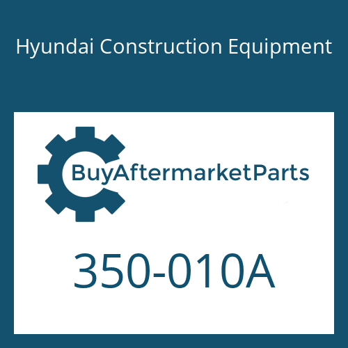 Hyundai Construction Equipment 350-010A - Front Seat