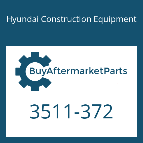 Hyundai Construction Equipment 3511-372 - Flow Control Valve