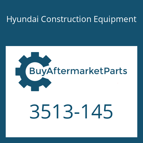 Hyundai Construction Equipment 3513-145 - Check Valve