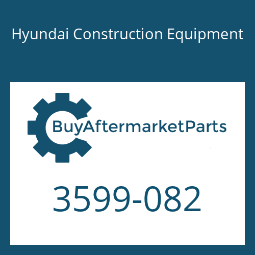 Hyundai Construction Equipment 3599-082 - Spacer