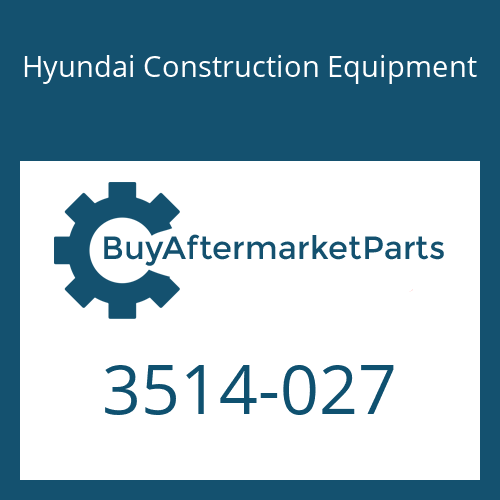 Hyundai Construction Equipment 3514-027 - Shaft