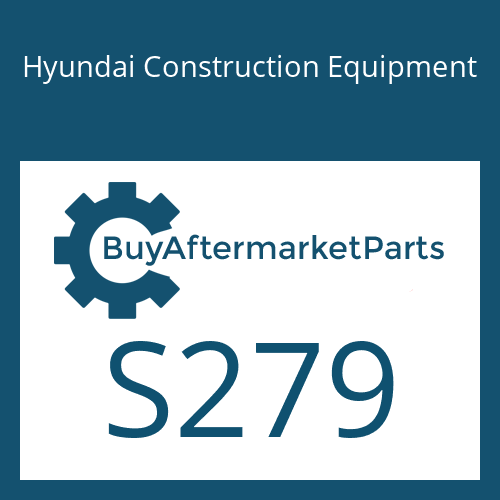 Hyundai Construction Equipment S279 - NUT