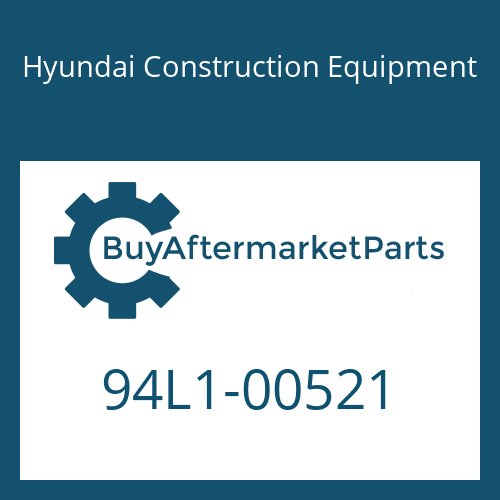 Hyundai Construction Equipment 94L1-00521 - DECAL-GREASE