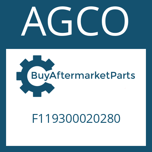 AGCO F119300020280 - HALF DIFFERENTIAL CARRIER