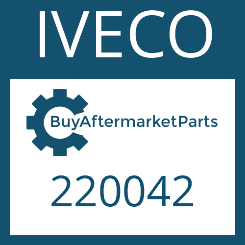 IVECO 220042 - Center Bearing Assembly