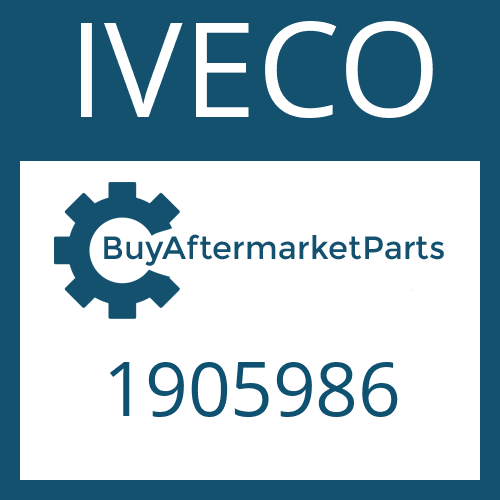 IVECO 1905986 - U-JOINT-KIT