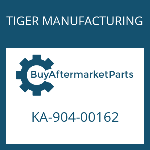 TIGER MANUFACTURING KA-904-00162 - CABLE-LH 7215010000