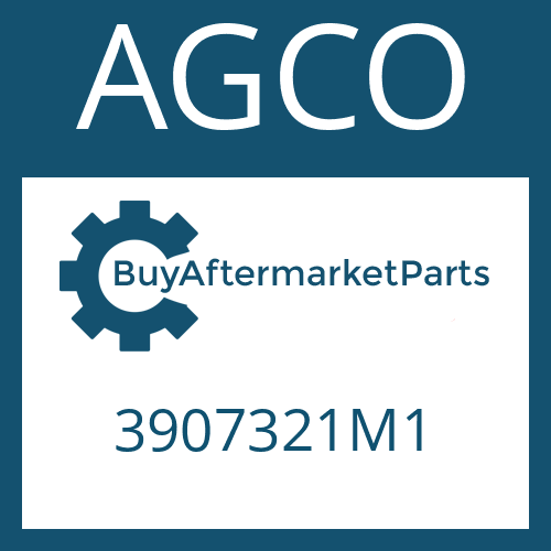 AGCO 3907321M1 - LOCK WASHER